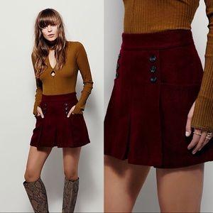 Free People • Happy Together Mini Skirt